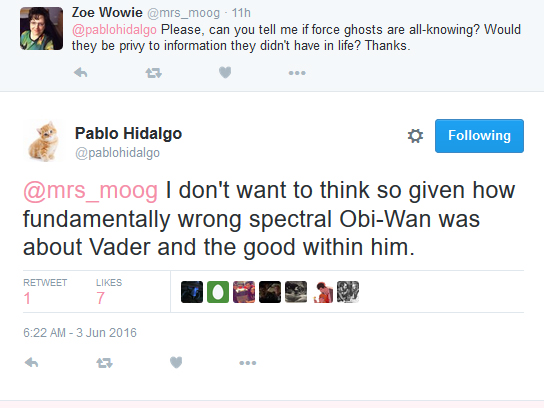 [ARCHIVE] SW Sequel Trilogy Tweets  - Page 2 Vader