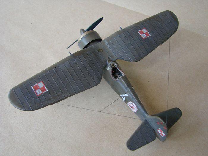 PZL P.11c Ferić, Azur, 1/72 i ZTS P.11c what ih,1/72 DSC01936