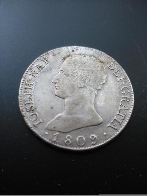 8 reales 1809. Jose Napoleón. Madrid 1_1