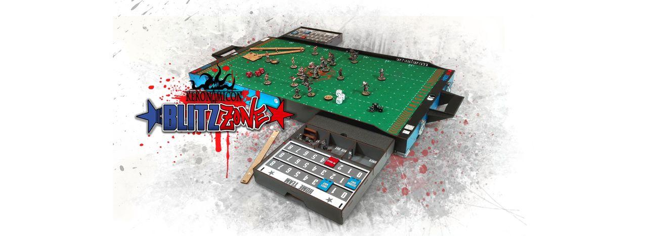 [Kickstarter] BlitzZone, de Kekonomicon – Fantasy Football Blitz_Zone_portada_Face
