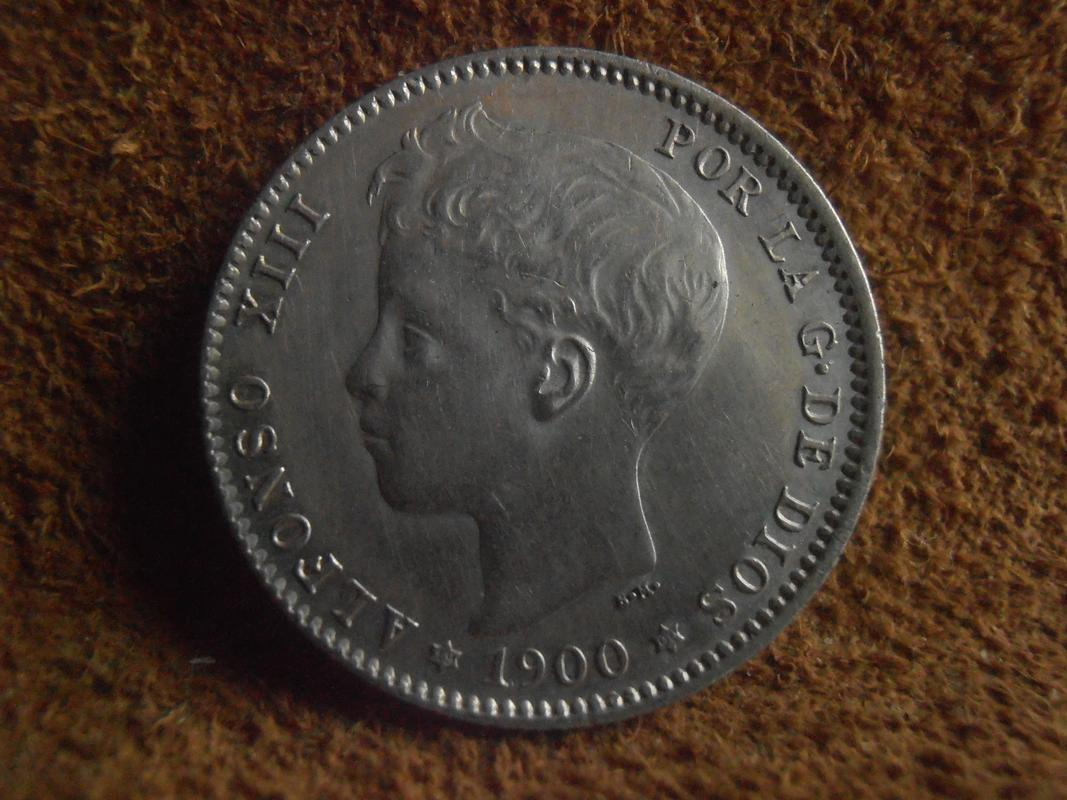 1 Peseta 1900 Alfonso XIII P5270227
