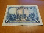 Duda Sobre Billete de 50 pesetas 1927 20180619_204111