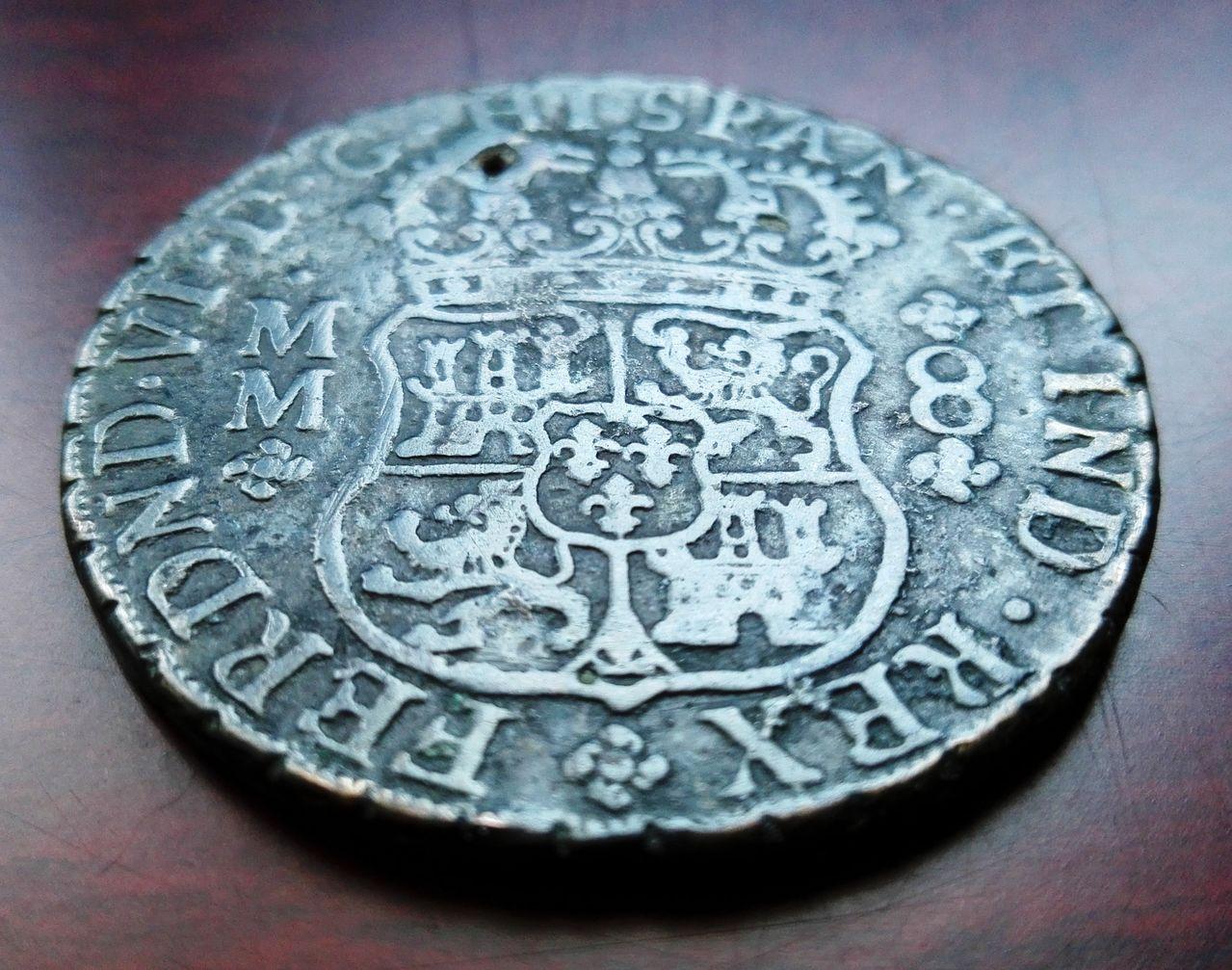 8 reales 1759 Méjico, Fernando VI (columnario) 8_reale_sm1759d