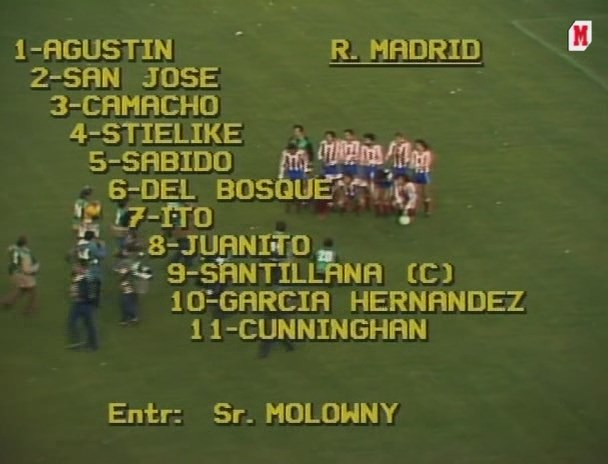 Copa del Rey 1981/1982 - Final - Real Madrid Vs. Sporting de Gijón (464p) (Castellano) Image