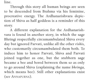 Shiva comme androgyne  Image