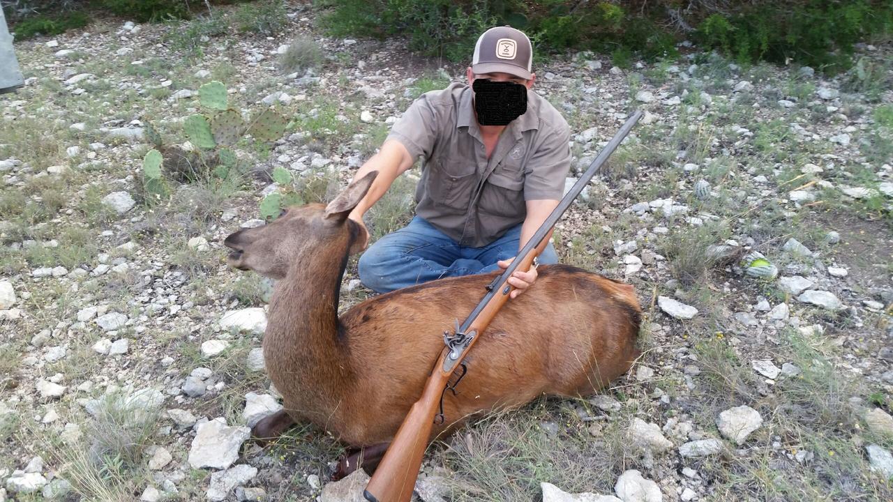 Semi-Traditional Hunt report June '18 Red_Deer_Flintlock_Small_Edit