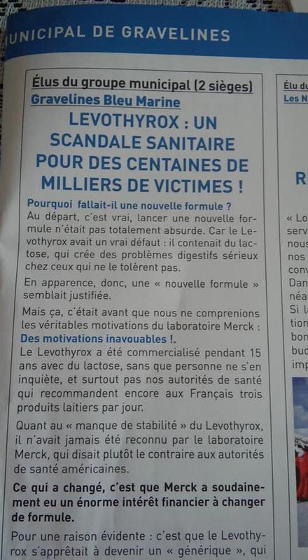 Lévothyrox - Scandale sanitaire... LEVOTHYROX_SCANDALE_SANITAIRE_1