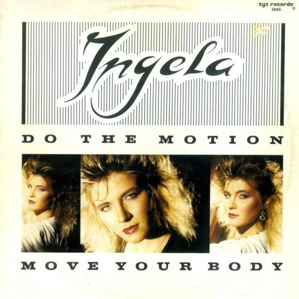 Ingela - Do The Motion (Vinyl, 12'') 1987 Front
