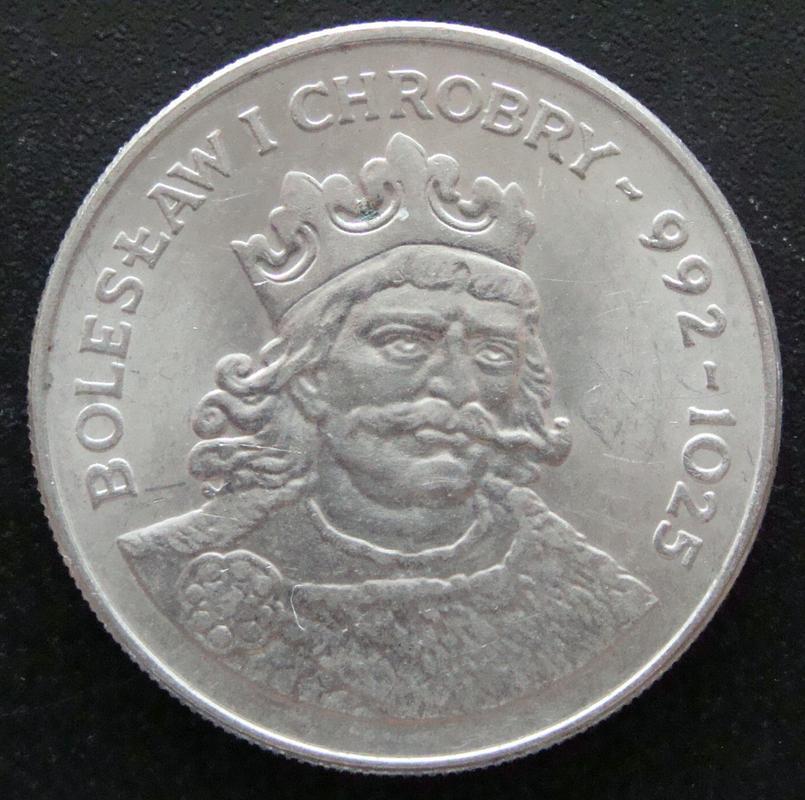 50 Zloty. Polonia (1980) Boleslaw I  POL._50_Zloty_Boleslaw_I_Chroby_-_rev