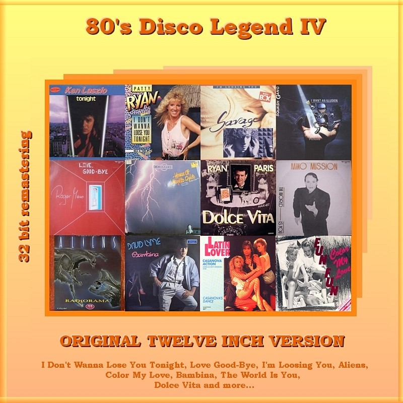 "VA-80""s Disco Legend Collection 1-11 Vol.IV_Front"
