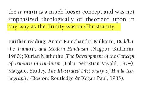 Trimurti ou Trinité Hindoue Image