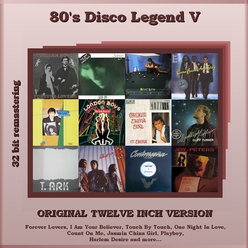 "VA-80""s Disco Legend Collection 1-11 Vol.V_Front"
