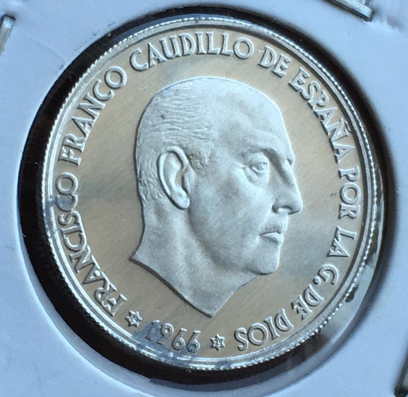 50 céntimos 1966 (*19-74). Estado Español. ARM CF1_E89_D3-95_B6-48_D5-9_B2_B-705_A8_E4_DD28_F