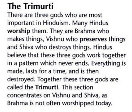 Trimurti ou Trinité Hindoue Hind1