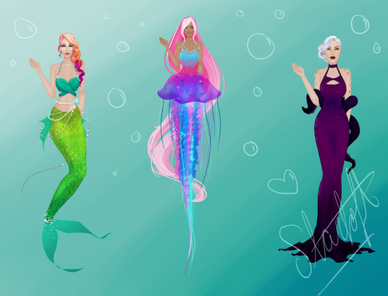 Aquatic Creature Outfits! Aquatic_models