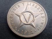 5 centavos 1915. República de Cuba IMG_20180802_185005