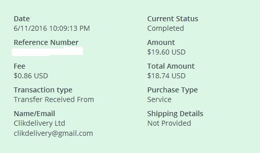 Clikdelivery - clikdelivery.com Deliverypayment