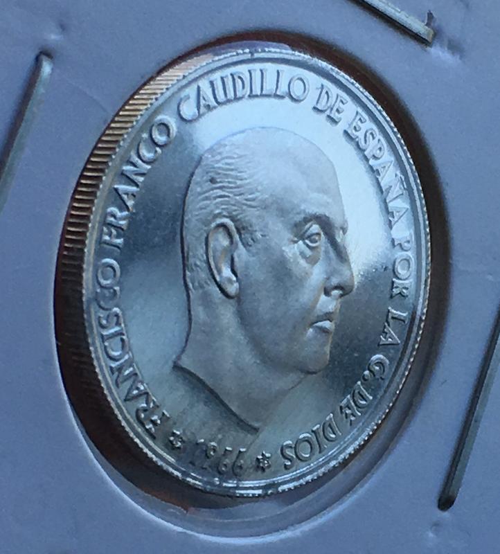 50 céntimos 1966 (*19-74). Estado Español. ARM 798_E05_E8-_BBB8-4_CAE-_A5_C6-_F253_D9_A118_F1