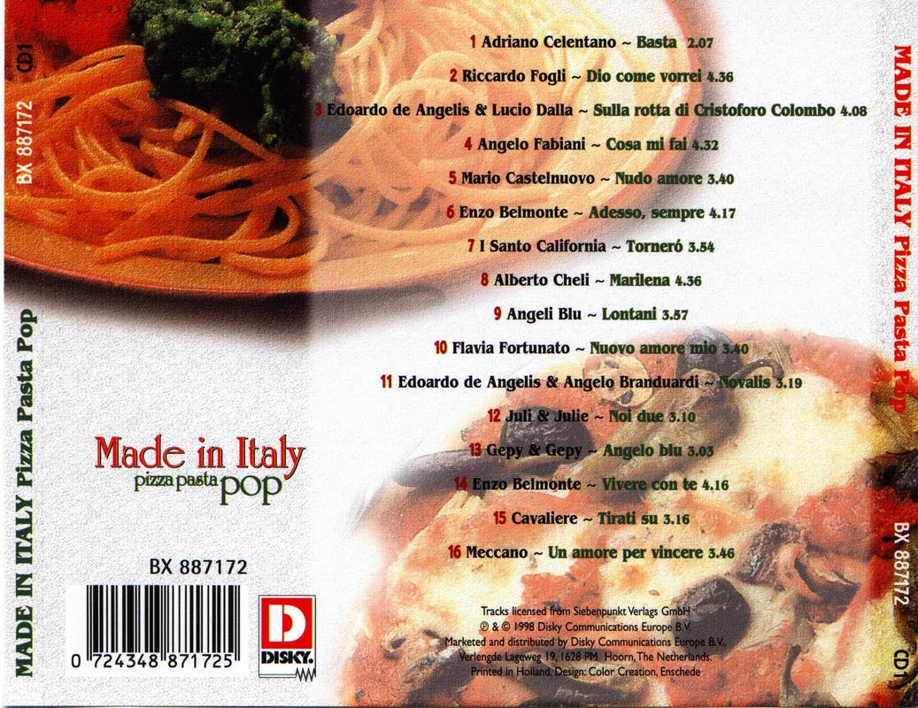 Made In Italy-Pizza Pasta Pop 1,2,3, Foto35
