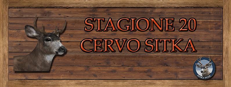Cervo Sitka - ST. 20 CERVO_SITKA