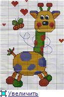 Жирафики - вышивка Dbe9a9e6c175t