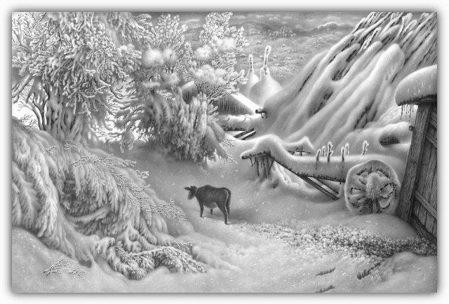 Снег, согревающий душу (Доленджашвили Г.) 98f2baaa1410
