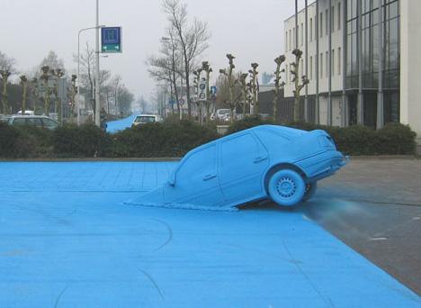 Con đường kì lạ sắc xanh Blueroad