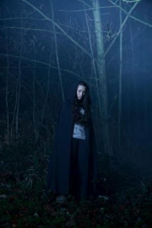 Jodelle Ferland dans le rôle d'une sorcière Hauntinghourserie4