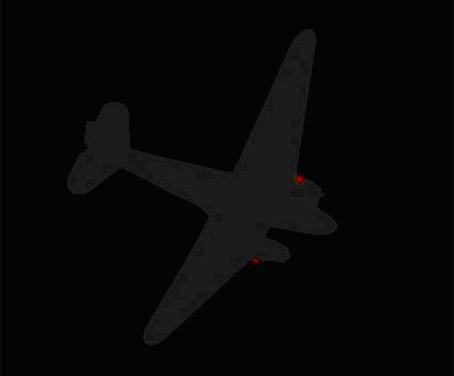 Eh oui, apprenez que l'avion et l'équipage arraisonnés sont français. Ils appartiennent à l'escadrille spéciale du SDECE. Habitués aux missions secrètes 3-copie