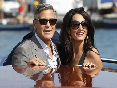 Divorce and denial many rumours  George-clooney-and-amal-alamuddin-AP-380