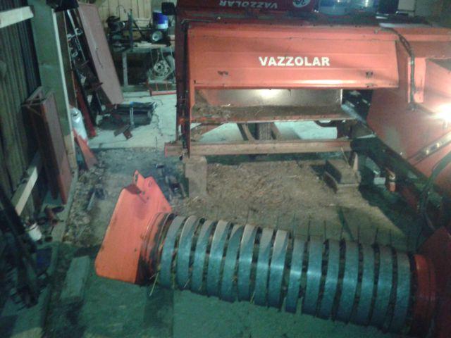 Preša Vazzolar-njen remont Sneti-heder-pobiralna-naprava