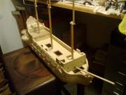 40-gun Old Glory man o' war ship Bild0474