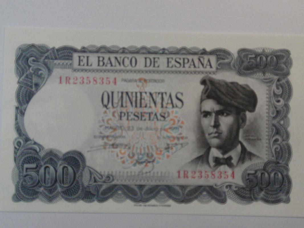 500 pesetas Verdaguer 500verdaguera