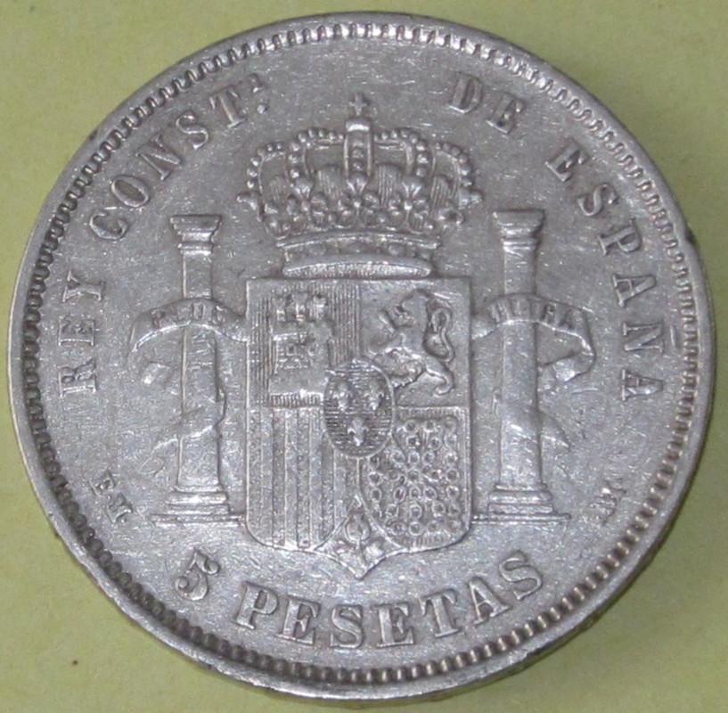 Duros de Plata de Alfonso XII 1878_EMMb