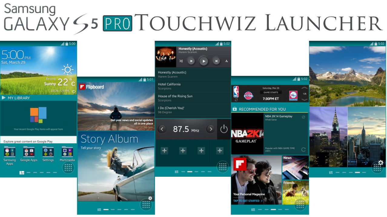 Galaxy -  [Téma] [MOD] Galaxy S5 / S PRO TW Launcher a AccuWeather 4.3 1396088963327