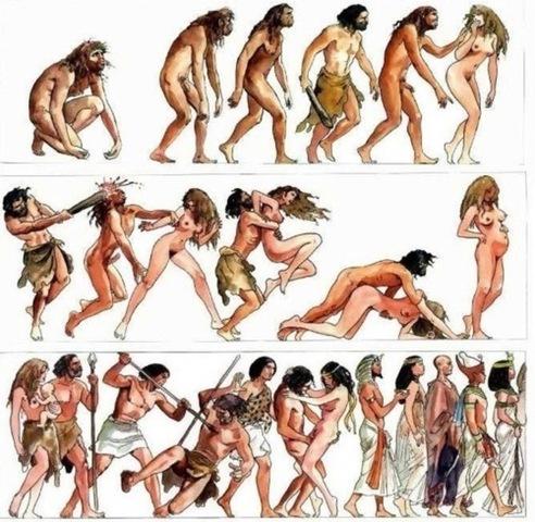LA EVOLUCION DEL HOMBRE 1_Primera