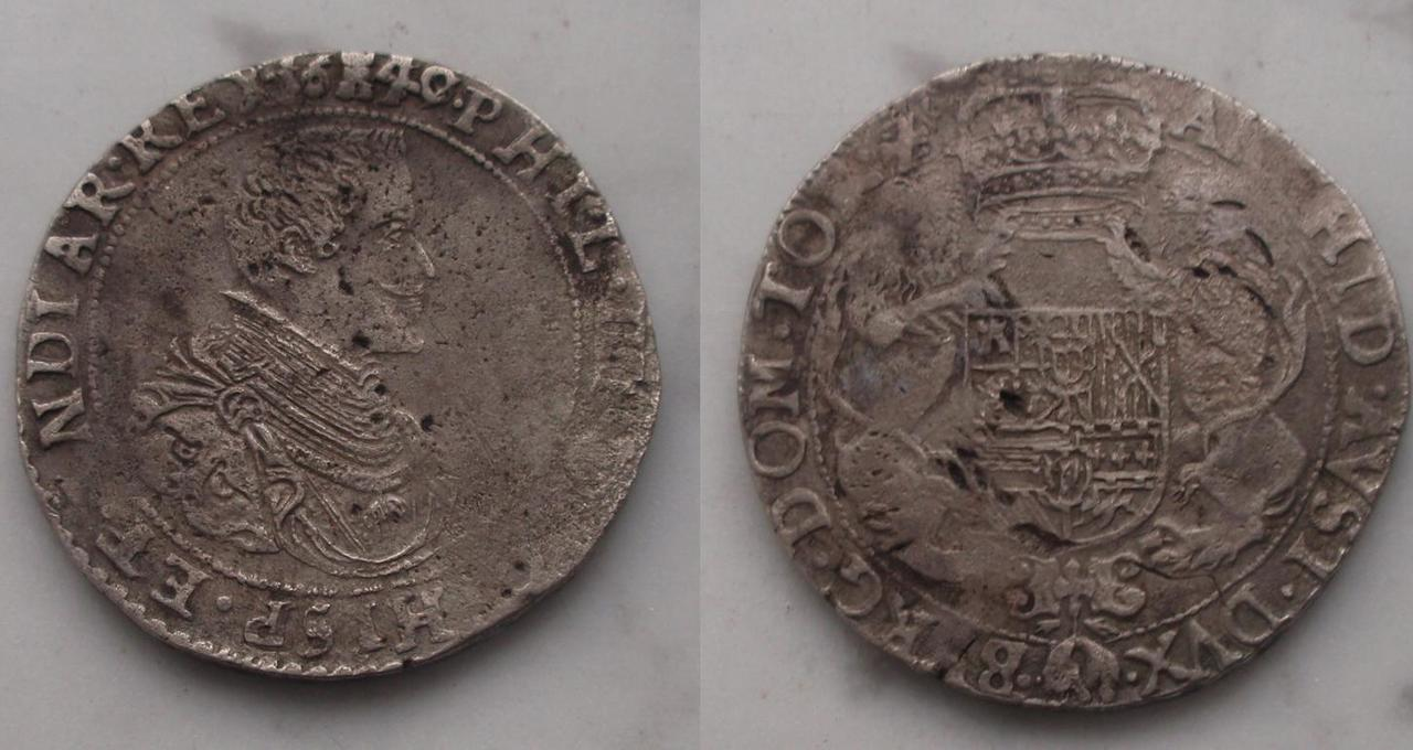 Ducatón de Felipe IV  1ducatonfelipeiv