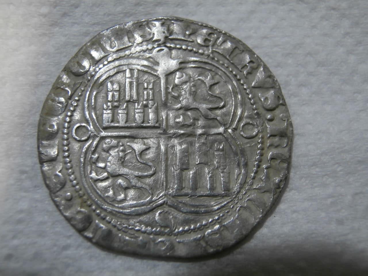 Real de Pedro I de Castilla 1350-1369 Sevilla. P2200196