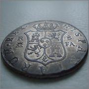 8 Reales 1805 FA Carlos IV Madrid Image