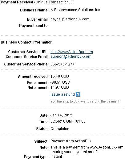 Actionbux - actionbux.com Actionbuxpayment