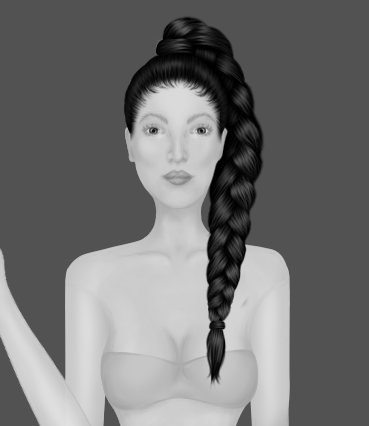 Leandra's Weekly Design Challenge: #5 Braids & Buns Bo7hn