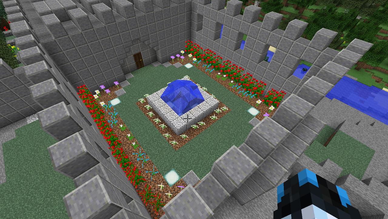 Minecraft Creations Courtyard
