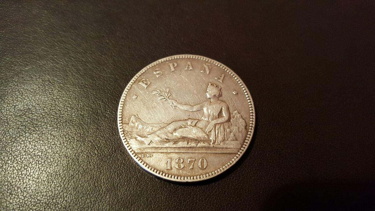 5 pesetas 1870 (18-71) Opinión IMG-20160409-WA0011