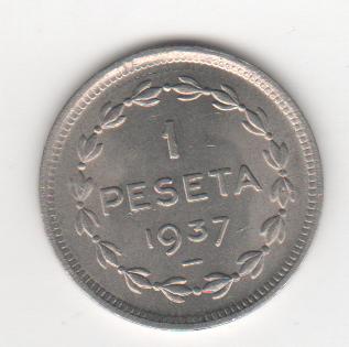 1 peseta de Euzkadi 1937 (defectos) Euzkadi_b