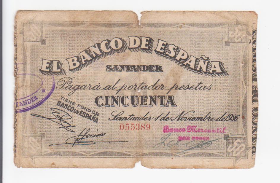 50 pesetas Santander 1936 (todos los bancos) 50_pesetas_santander_banco_mercantil