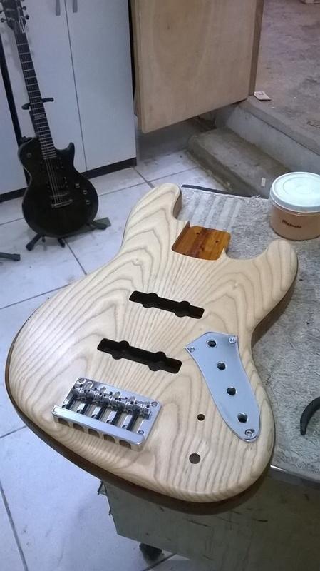 Projeto Jazz Bass 5 cordas M. Laghus Image