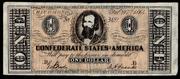 1 Dólar 1.864  Estados Confederados de América , Opinión Confederado