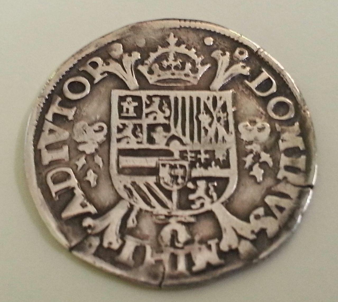 1/5 de escudo. Felipe II ceca Nimega 1571 s/ 1564 20150811_184912_2
