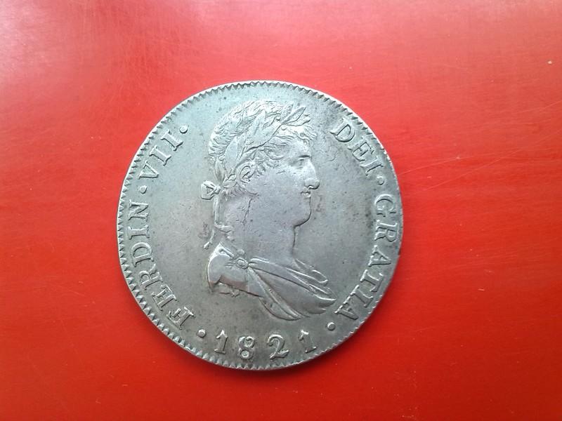8 reales de Fernando VII 1821 Guadalaxara  IMG_20150519_180756