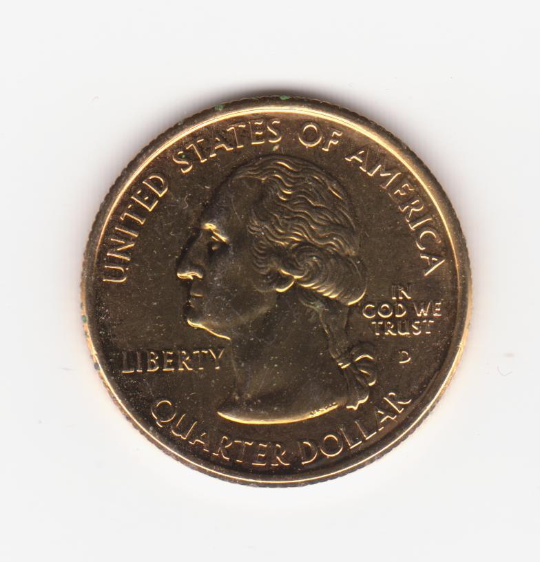 25 centavos kansas 2005, Estados Unidos (dorada) 25_centavos_alaska_002